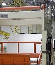 Máquinas Rebobinadoras de papel tisu