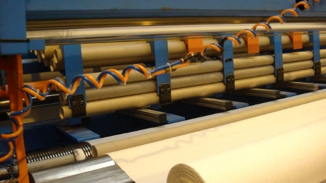 Rebobinadora para Maxi Rollos